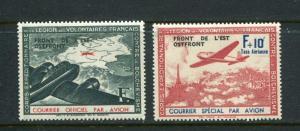 Germany 1942 French Legion Eastern Front Michel #IV-V Mint