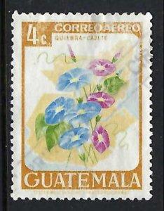 GUATEMALA C352 VFU FLOWERS R6-127-4