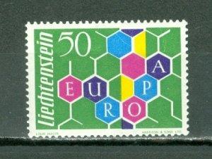LIECHTENSTEIN SCARCE  1960 EUROPA #356...MNH...$55.00