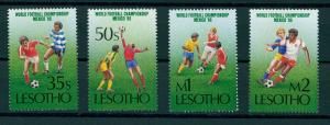 LESOTHO, SOCCER / FOOTBALL WORLD CHAMPIONSHIP 1986 MNH