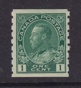Canada Scott # 125 VF never hinged with nice color cv $ 80 ! see pic !