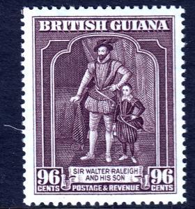 British Guiana - Scott #238a - MH - P12½X13½ - SCV $7.00