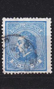 PORTUGAL [1880] MiNr 0053 B ( O/used )