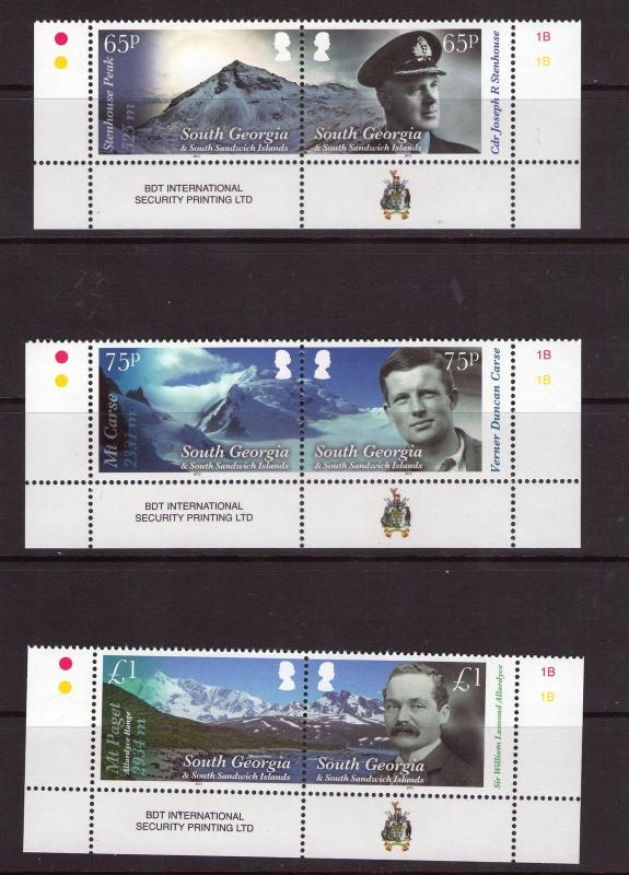South Georgia  QEII MOUNTAINS  2012 SUPERB MNH CONDITION