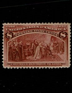 Scott #236 VF-OG-NH. SCV - $140.00