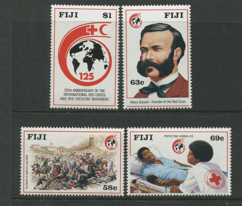 Fiji - Scott 599-602 - General Issue -1989 - MNH - Set of 4 Stamps