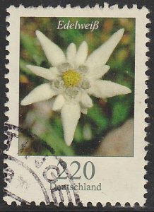 Germany, Used Flower Definitive, Sc. no. 2322, 220c hi value