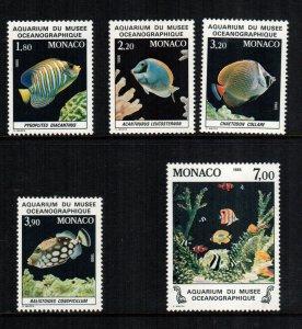 Monaco  1481 - 1485   MNH $ 12.55