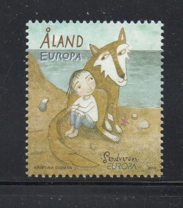 Aland Finland Sc 300 2010 Europa stamp mint NH