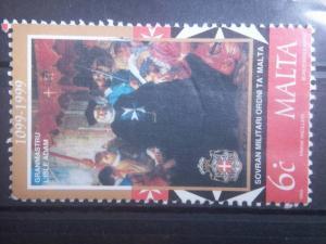MALTA, 1999, used 6c,  Grandmaster Scott 963