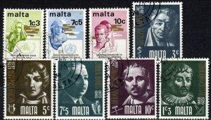 Malta #472-9 F-VF  Used CV $2.65 (X5696)