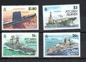 Pitcairn #379-382 MNH