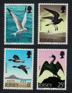 Jersey Petrel Geese Tern Shag Sea Birds 4v SG#129-132 MI#123-126