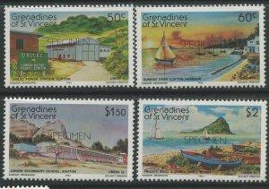 STAMP STATION PERTH Grenadines St Vincent #267-270 Specimen Set MNH CV$2.00