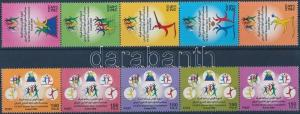 Kuwait stamp Sport games for women 2 stripes of 5 MNH 2008 WS170031