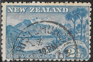 New Zealand 74 Used - Lake Wakatipu