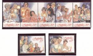 AUSTRALIA Scott 1044-1046 MNH** 1988 Christmas set