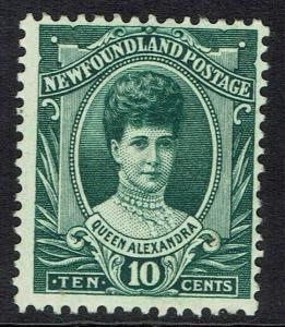 NEWFOUNDLAND 1911 CORONATION 10C QUEEN ALEXANDRA