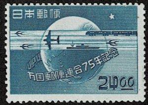 1949 Japan Scott Catalog Number 477 Unused Never Hinged