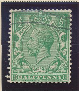 Great Britain Stamp Scott #187a, Used - Free U.S. Shipping, Free Worldwide Sh...