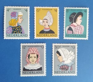 Netherlands 1961 Children Stamps Folklore, Suits and Costumes set mint**