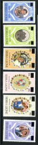 Sierra Leone 540-545 MNH SCV $15.15