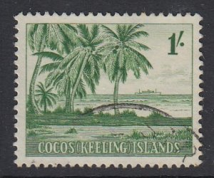 COCOS ISLANDS, Scott 4, used