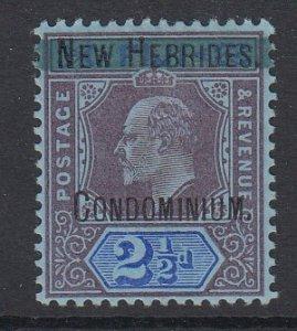 NEW HEBRIDES, Scott 3, MHR