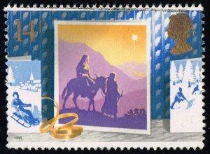 Great Britain #1234 Journey to Bethlehem; Used (0.25)