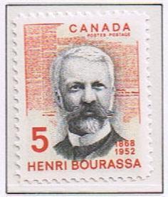 Canada Mint VF-NH #485 Henri Bourassa