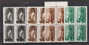 Russia #1280 - #1283 XF/NH Rare Block Set