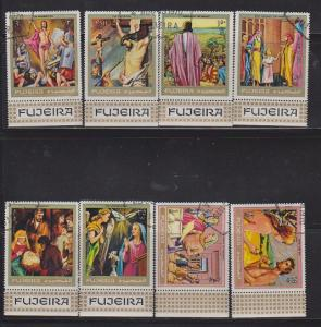 FUJEIRA SET OF STAMPS MNH  LOT#473
