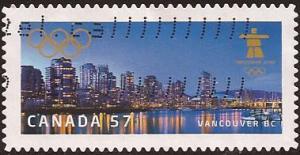 Canada - Scott# (050 - used booklet single) 2368 (2010) V...