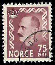 Norway - 351 - Used - SCV-0.25