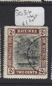 BRUNEI  (P2608B)  RIVER 2 C     SG  36       VFU
