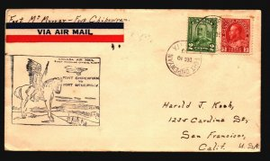 Canada 1929 FFC Ft McMurray to Ft Chipewvan - Z17427