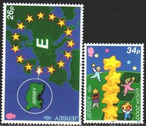Jersey. 2000. 922-23. Europa-sept. MNH.