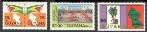 GUYANA SC# 608-610 - MNH