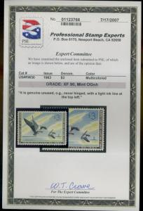 RW30 MINT PSE Cert XF90 NH Invisible line top left Cat$135