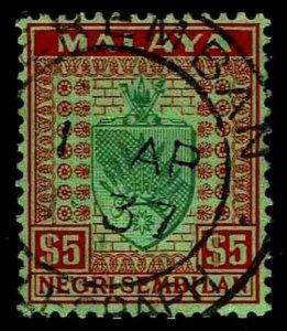 1936 Malaya - Negri Sembilan #35 Arms - Used - VF - CV$135.00 (ESP#1775)