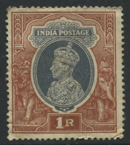 STAMP STATION PERTH India #162 KGVI Definitive Issue Used CV$0.30.