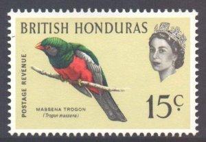 Br Honduras Scott 173 - SG208, 1962 Birds 15c MNH**