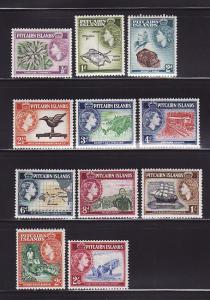 Pitcairn Islands 20-30 Set MH Queen Elizabeth II, Scenes