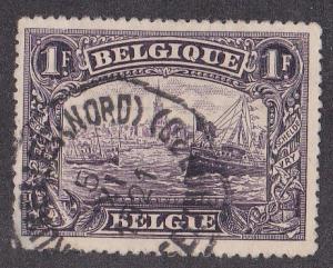 Belgium # 119, Scheldt River, Used