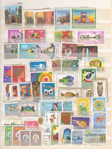 IRAN 2 PACKED STOCK PAGES COLLECTION LOT MINT H AND USED