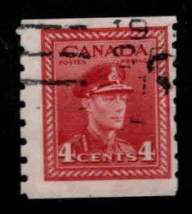 CANADA Scott 267 Used coil stamp