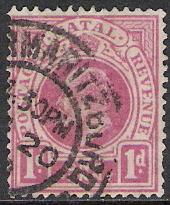 Natal #102 King Edward VII Used