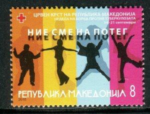 102 - MACEDONIA 2010 - Red Cross - **MNH Set