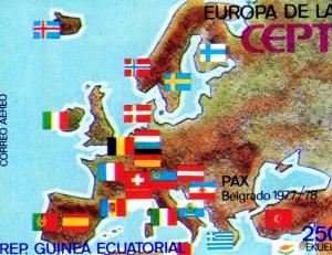 Equatorial Guinea 1978 EUROPA CEPT Set (1) Perforated Mint (NH)