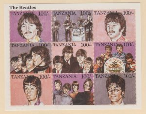 Tanzania Scott #1334 Stamps - Mint NH Souvenir Sheet